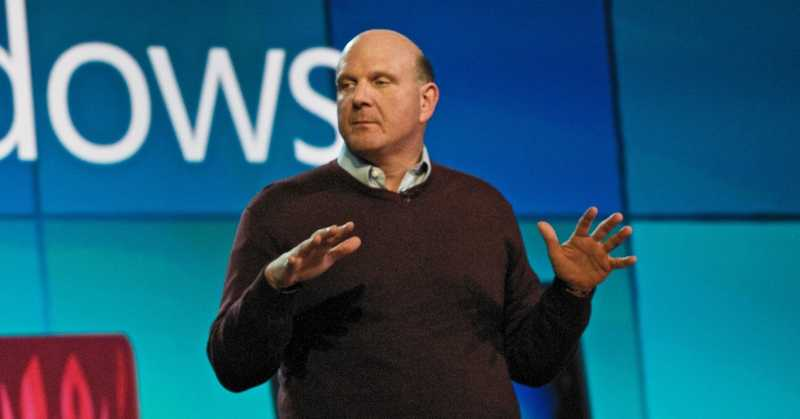 Featured Image - Steve Ballmer at the Windows 7 Launch Event